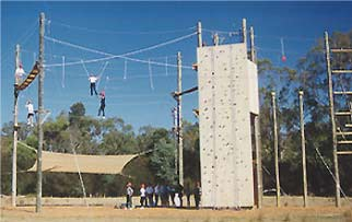 chilling cooking dinner auntunclecousins high ropes