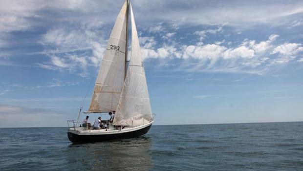 Sandusky sailboat