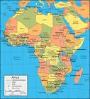 africia map