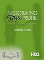Negotiating Style Profile