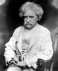 Mark Twain said it best,